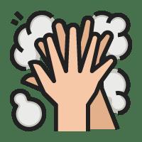 洗手步骤3